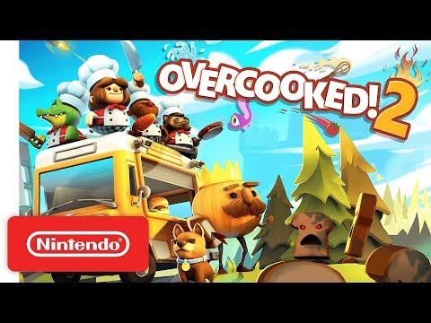 Overcooked! 2 - Launch Trailer - Nintendo Switch
