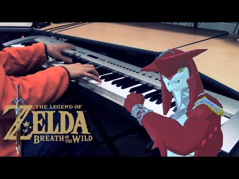 "Legend of Zelda: Breath of the Wild - ""Prince Sidon"" [Piano Cover] 