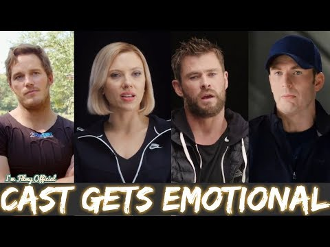 Avengers 4: End Game Cast Gets Emotional Thinking About 10 Years of Marvel Relationship - 2018