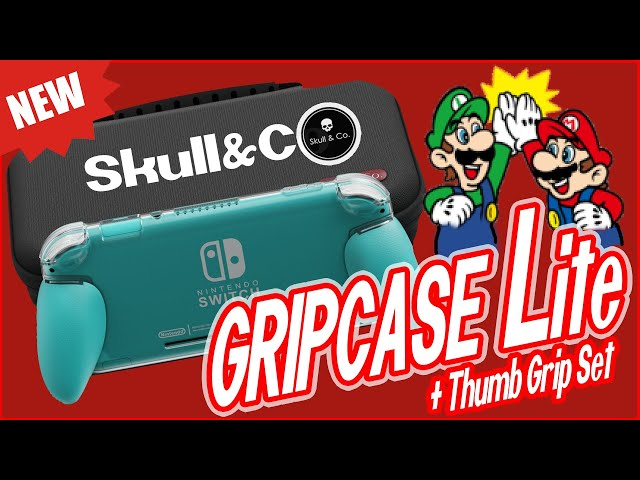 SKULL & CO. GripCase Lite + Thumb Grip Set - Nintendo Switch Lite