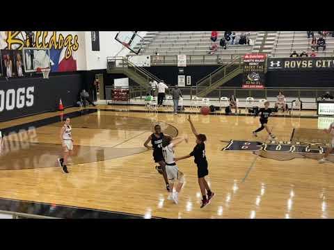 #21 Brock McMinn—2025 PF, Game Highlights vs. Crandall Middle School 1/6/21