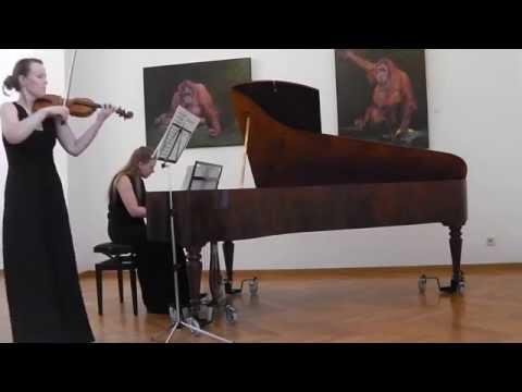 Beethoven: Sonata No. 8 in G major, Op. 30 No. 3 - (part 1)