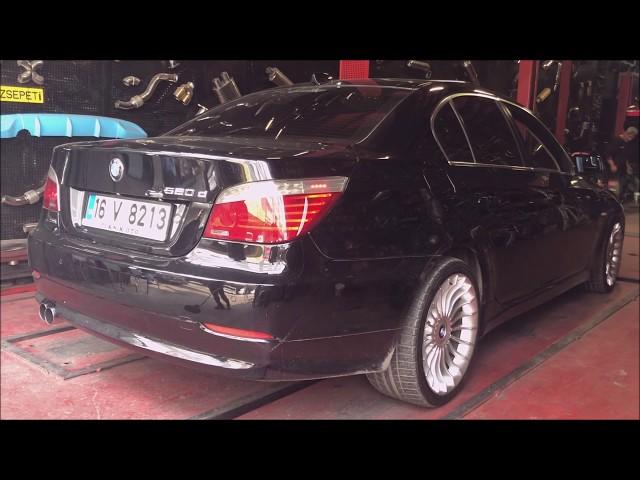 BMW E60 5.20 DİZEL KUMANDALI VAREX EGZOZ SESİ