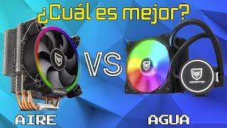¿Cuál es mejor? - Refrigeración por aire VS Liquida - Test en Gaming YouTube Videos