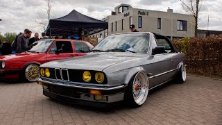 STANCED BMW E30 ON BBS RS WHEELS! (4K)
