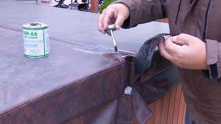 Comment Réparer un bain à Remous ou le Couvercle du Spa à l'aide de HH-66