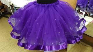 Пышная юбка со стразами. Видео обзор Eli-stor.com