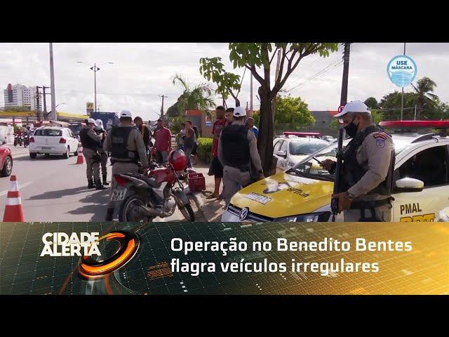 Operação no Benedito Bentes flagra veículos irregulares e condutores inabilitados