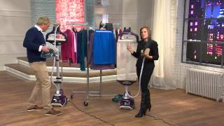 Rowenta Master Valet 1550 Watt Upright Garment Steamer with Rick Domeier