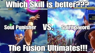 Dragon ball Xenoverse 2 Skill Test Spirit Sword Vs. Soul Punisher?!!!
