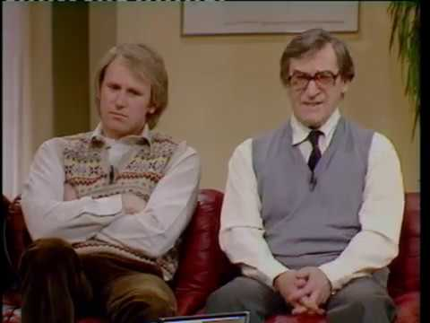 BBC Breakfast Time Doctor Who Patrick Troughton and Peter Davison