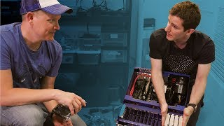 Download 160TB Server with Linus! (From Linus Tech Tips) - Smarter Every Day 222 Mp3 and Videos