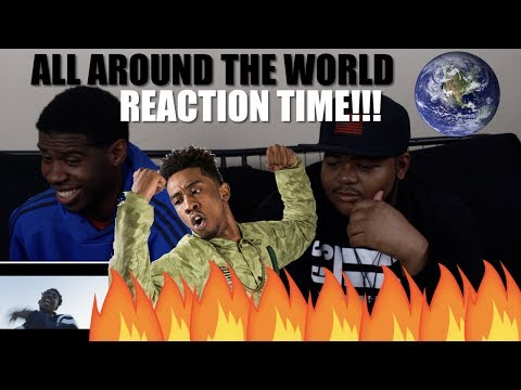Mura Masa - All Around The World (Official Video) ft. Desiigner (REACTION/REVIEW!!!!)