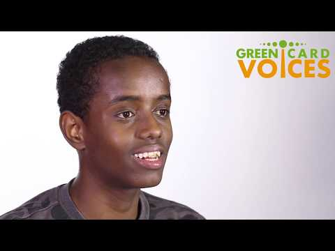 Yonis Yusuf - Green Card Voices