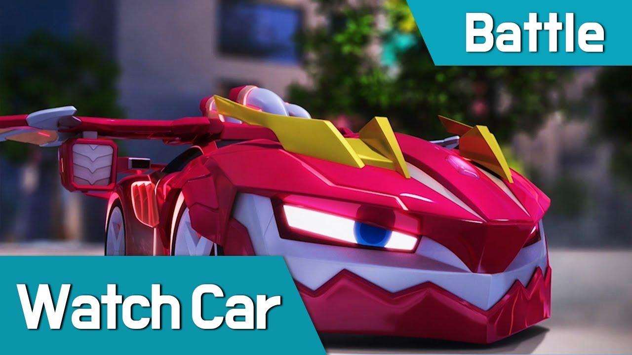 [Watch Car Battle Scene12] Watch Car VS Shadowcar-elec
