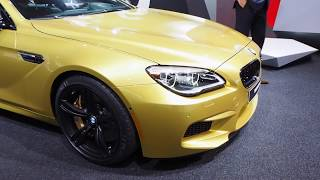2016 BMW M6 Coupe Facelift
