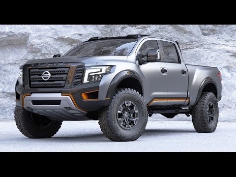 Nissan Diesel Truck >> 2017 Nissan Titan Warrior Review - YouTube