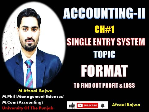 format-single-entry-system#single-entry-system-format-#basics-of-single-entry-#find-profit-and-loss