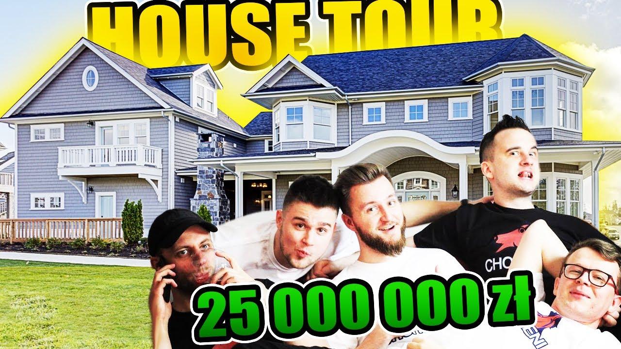 KUPILIŚMY DOM ZA 25 000 000 ZŁ - House Tour | CHORSMENI SEZON 6