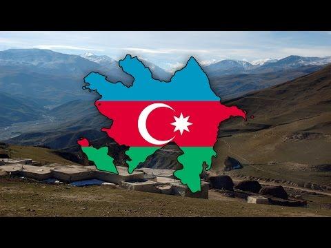 Blank Map of Azerbaijan (Azərbaycan) - Timelapse