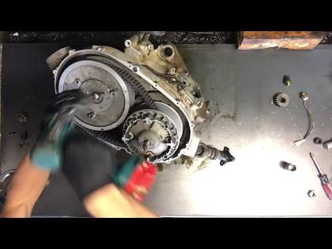 DON'T SCREW THIS UP!!!!   Yamaha Arctic Cat Belt Clutch  -    Remove And Install Clutches