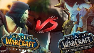 World PvP ! Classic VS BfA - WoW Machinima