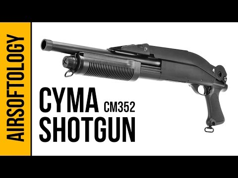 CYMA CM352 Tri-Shot Shotgun | Airsoftology Review