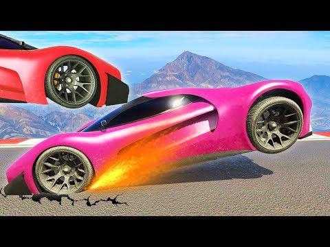 RAGING DURING GTA RACES! (Sanna VS Leah)
