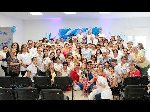 Con una muestra de arte y ciencia enfermeros del hospital Avellaneda celebraron su día