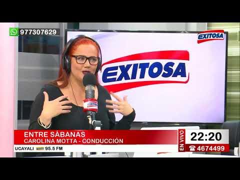 Entre Sábanas con Carolina Motta 29 de septiembre de 2017