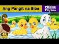 Ang Pangit na Bibe - Kwentong Pambata - Pambatang Kwento - 4K UHD - Filipino Fairy Tales