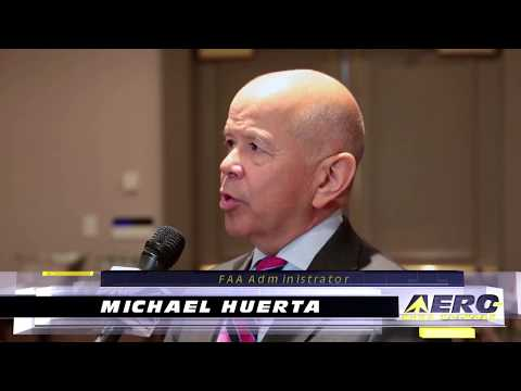 Aero-TV: 2017 FAA UAS Symposium - Michael Huerta Updates The Unmanned Community
