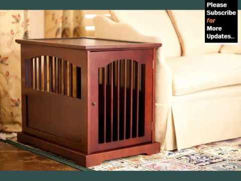 Wood Dog Crate Furniture - Picture Collection