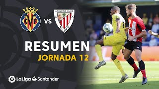 Resumen de Villarreal CF vs Athletic Club (0-0)