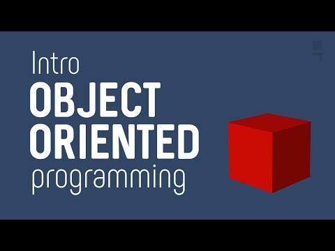 OOP - Object Oriented Programming - Quick Intro