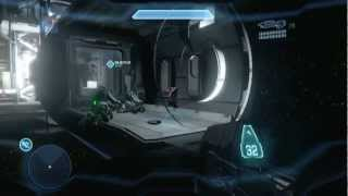 Halo 4 Glitch - How to Get out of the Airlocking Area on Composer