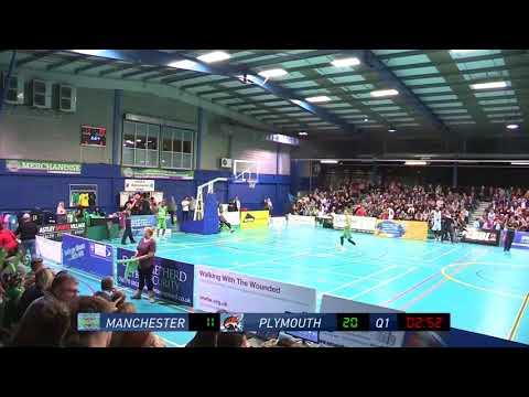 Neil Watson Full Game Film: Plymouth vs Manchester 10-29-17