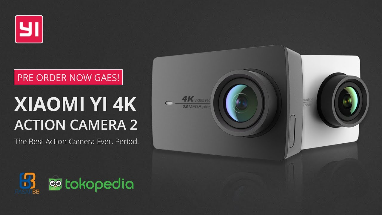 pre order now gaes xiaomi yi 4k action camera 2. Black Bedroom Furniture Sets. Home Design Ideas