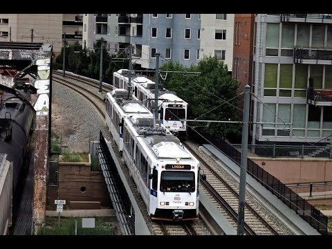 Denver Light Rail Trains & Trolley in 2014