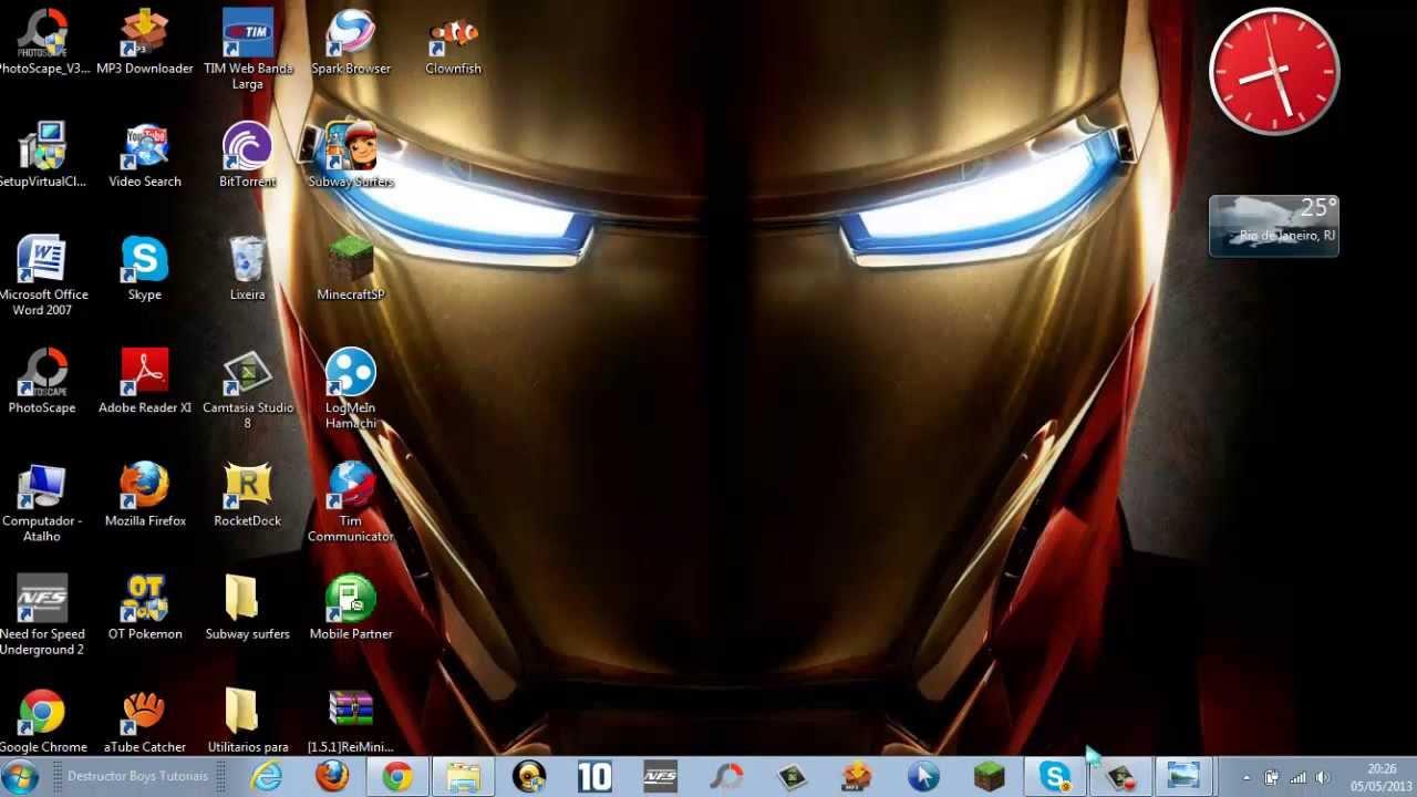 Como mudar a imagem da área de trabalho do windows 7 starter