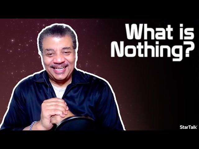 Neil deGrasse Tyson Explains Nothing