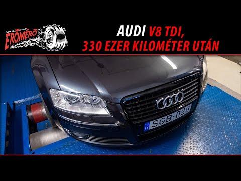 Totalcar Erőmérő: Audi V8 TDI, 330 ezer kilométer után [ENG SUB] thumbnail