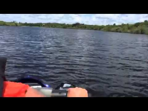 En el rio en Lehigh acres Florida