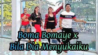 Download lagu BOMA BOMAYE X BILA DIA MENYUKAIKU | CHOREO ZIN CHICIE