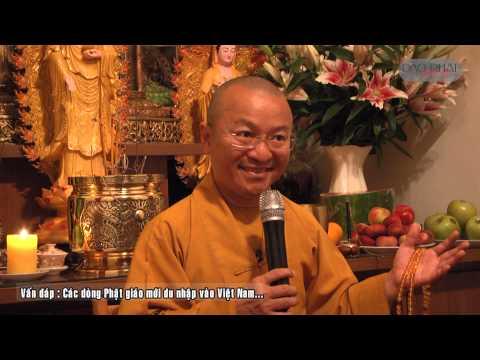 Vấn đáp: Quan điểm của Phật giáo về ngoại cảm, các dòng Phật giáo mới du nhập vào Việt Nam, ý nghĩa niệm Phật, đạo Phật duy tâm hay duy vật