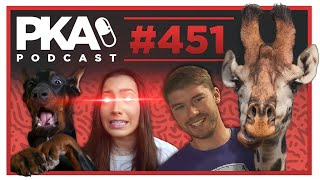 PKA 451   Kyle's Last Episode, Man Rides Giraffe, Dog Mistreatment