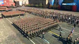 Der 9. Mai: Siegesparade auf dem Roten Platz