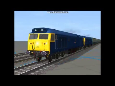 London, England Train Crash Remake