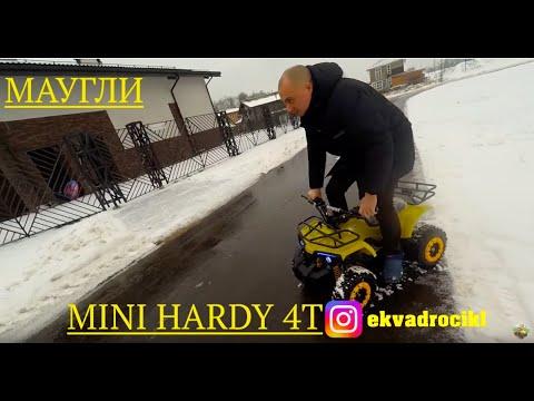 Квадроцикл МАУГЛИ MINI HARDY бензиновый 4 тактный