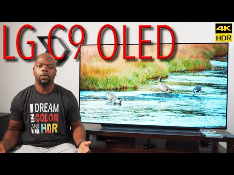 2019 LG C9 OLED 4K HDR TV Real World Review | BEST TV For The Price? [4K HDR]